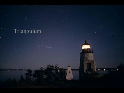 Tonight Triangulum, Trapezium, Orion, Black Hole have we found where God Lives
