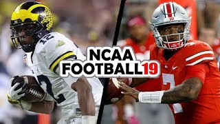 Michigan @ Ohio State - 11-24-18 NCAA Football 19 Week 13 Simulation