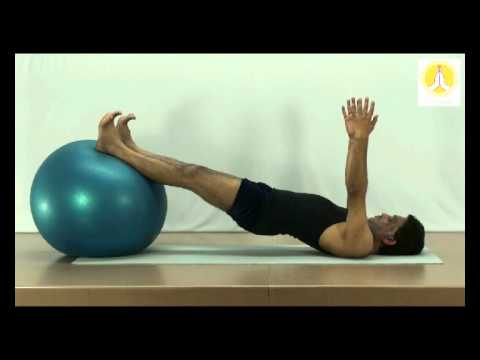 Stability of the Back with Gym Ball