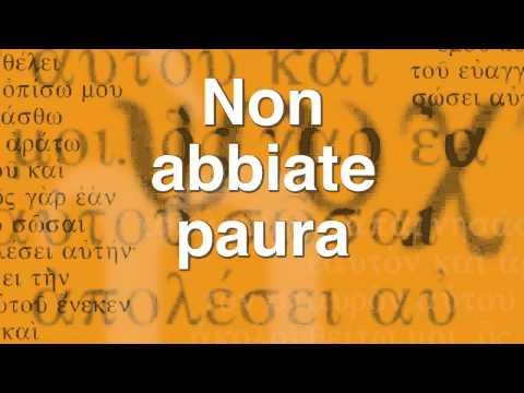 Paolo Spoladore - Non abbiate paura