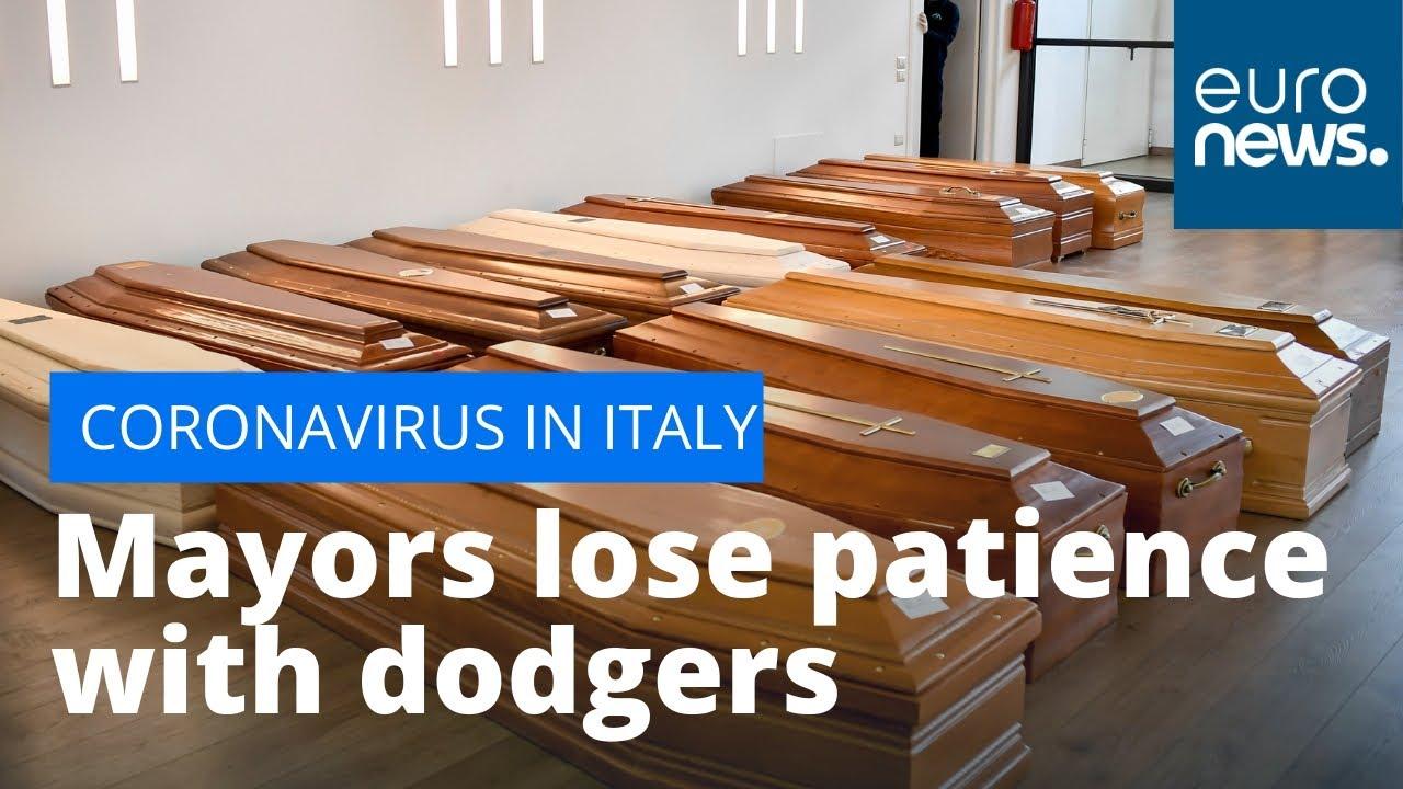 Italian mayors lose patience with #coronavirus lockdown dodgers