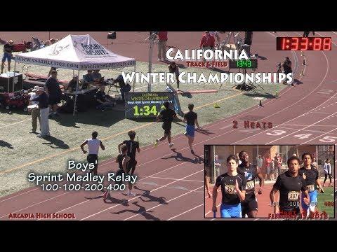 2018 TF - Winter Champs - SMR (Boys, 2 Heats)