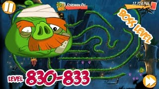 Angry Birds 2 Bamboo Forest Snout Slough – LEVEL 830–833 BOSS LEVEL FOREMAN PIG