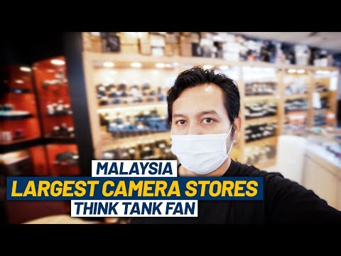 Inside Malaysia Largest Camera Stores | Think Tank Fan