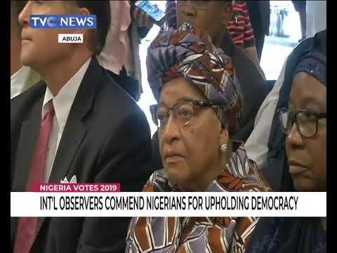 NIGERIA VOTES INTERNATIONAL OBSERVERS