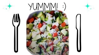 How To: Chicken Bacon & Avocado Salad! ♡