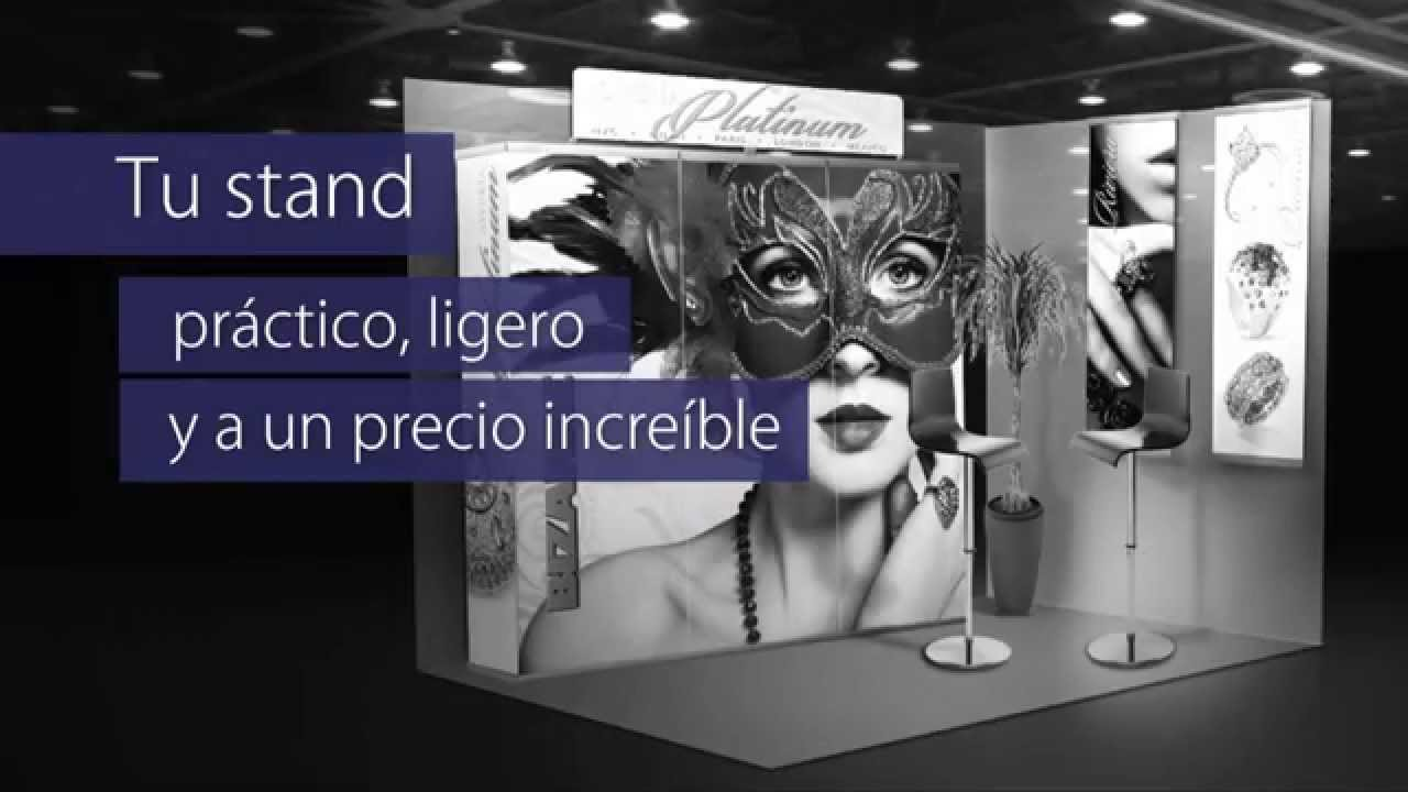 Stands para expos y ferias youtube for Un stand