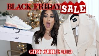 BLACK Friday 2019 SALES You WON'T WANT To MISS: Gift Guide IDEAS