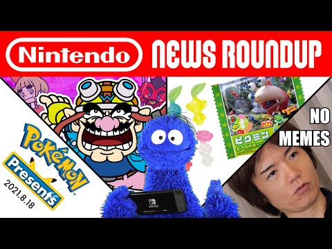 Pokémon Presents, WarioWare Demo, Sakurai Doesn't Like Memes | NINTENDO NEWS ROUNDUP