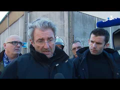 Premier bilan après l'explosion de l'usine Saipol de Dieppe