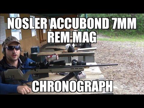 7mm Remington Magnum Nosler Accubond Long Range Chronograph