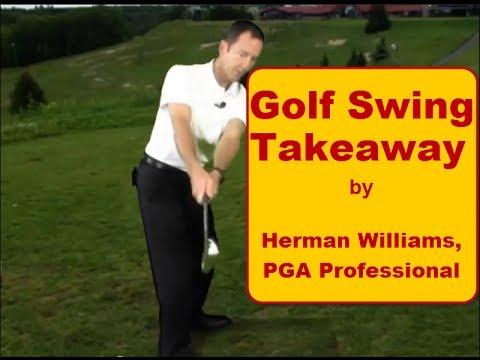 Golf Swing Takeaway One Piece Takeaway And On Plane