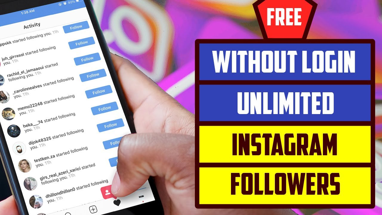 how to increase free instagram followers and likes 2020 instagram likes and follower kaise badhaye youtube Increase Instagram Followers Without Login 2020 Unlimited Instagram Follower Instagram Likes
