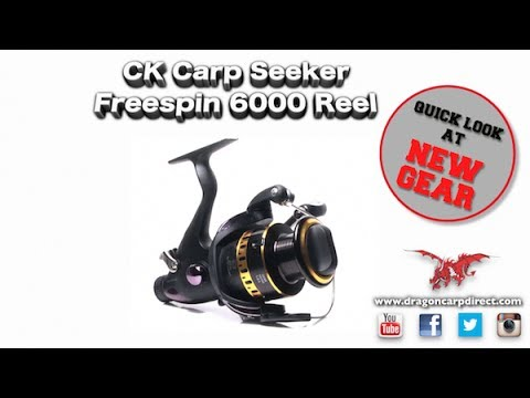 See The CK Carp Seeker Freespin 6000 Reel