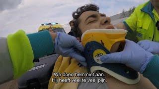 Loopt het goed af voor deze jongen na dit quad ongeval? | Helden van hier: Door Het Vuur | VTM