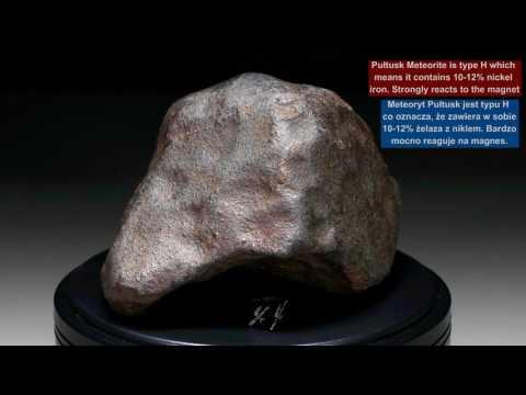 METEORITES360° - PUŁTUSK Chondrite H5 - 1514 gram