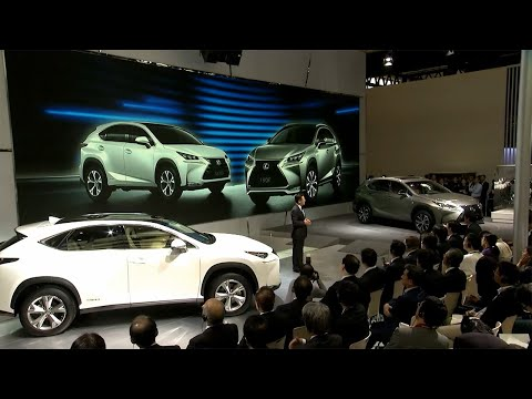 Lexus press conference at the Beijing Motor Show