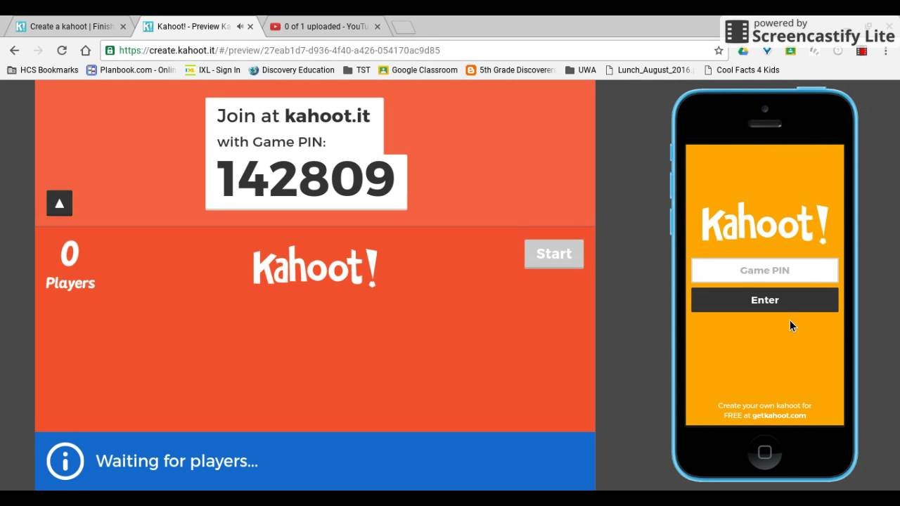 Kahoot Sign In