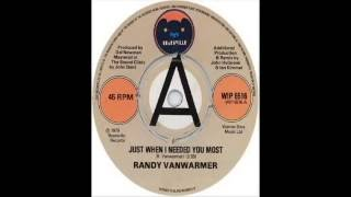 Randy Vanwarmer - Just When I Needed You Most (1979)