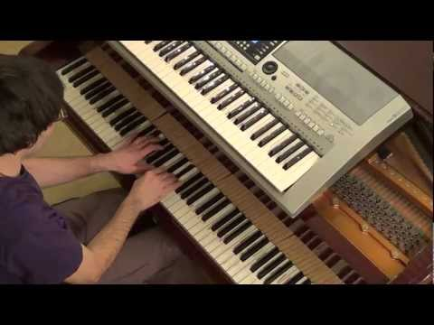 Rihanna - Love without tragedy Mother Mary piano & keyboard synth cover by LiveDjFlo
