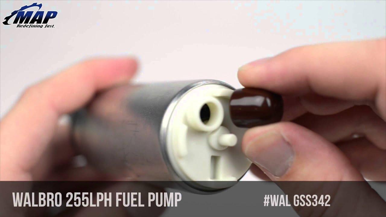 Walbro 255lph High Pressure In-Tank Fuel Pump | DSM / Evo / WRX / STI