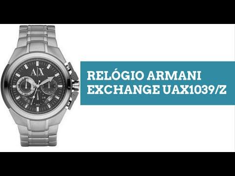Relogio Armani Exchange UAX1039Z - YouTube 2f093cbd05