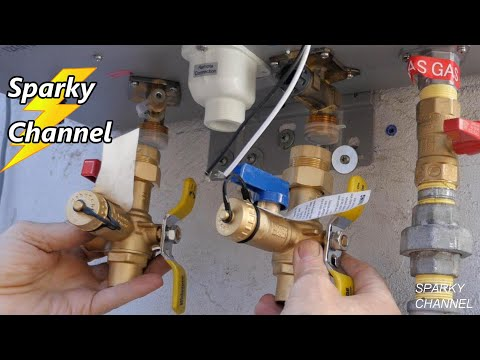 How To Install A Condensing Tankless Outdoor Water Heater