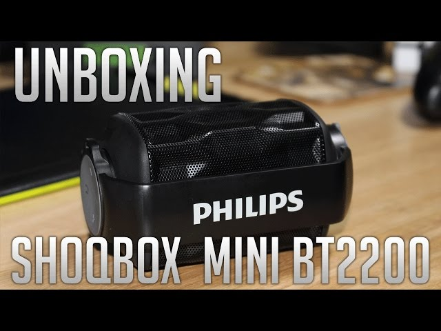 Unboxing e Review Philips Shoqbox Mini BT2200
