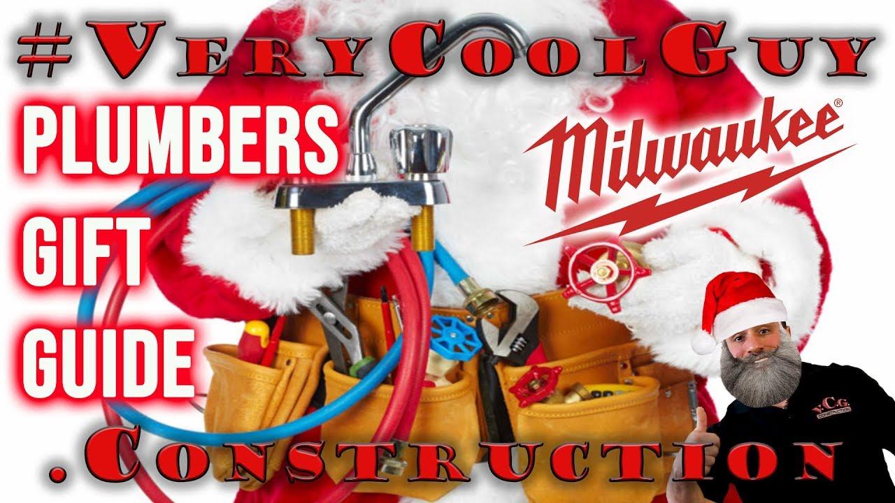 Milwaukee Tools Plumbers Holiday Gift Guide 2018!