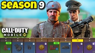 SEASON 9 BATTLE PASS for COD Mobile! (NEW CHARACTERS, NEW GUN, and MORE!)