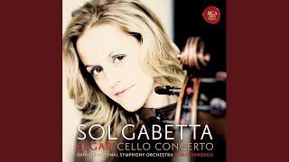 Cello Concerto in E Minor, Op. 85: III. Adagio