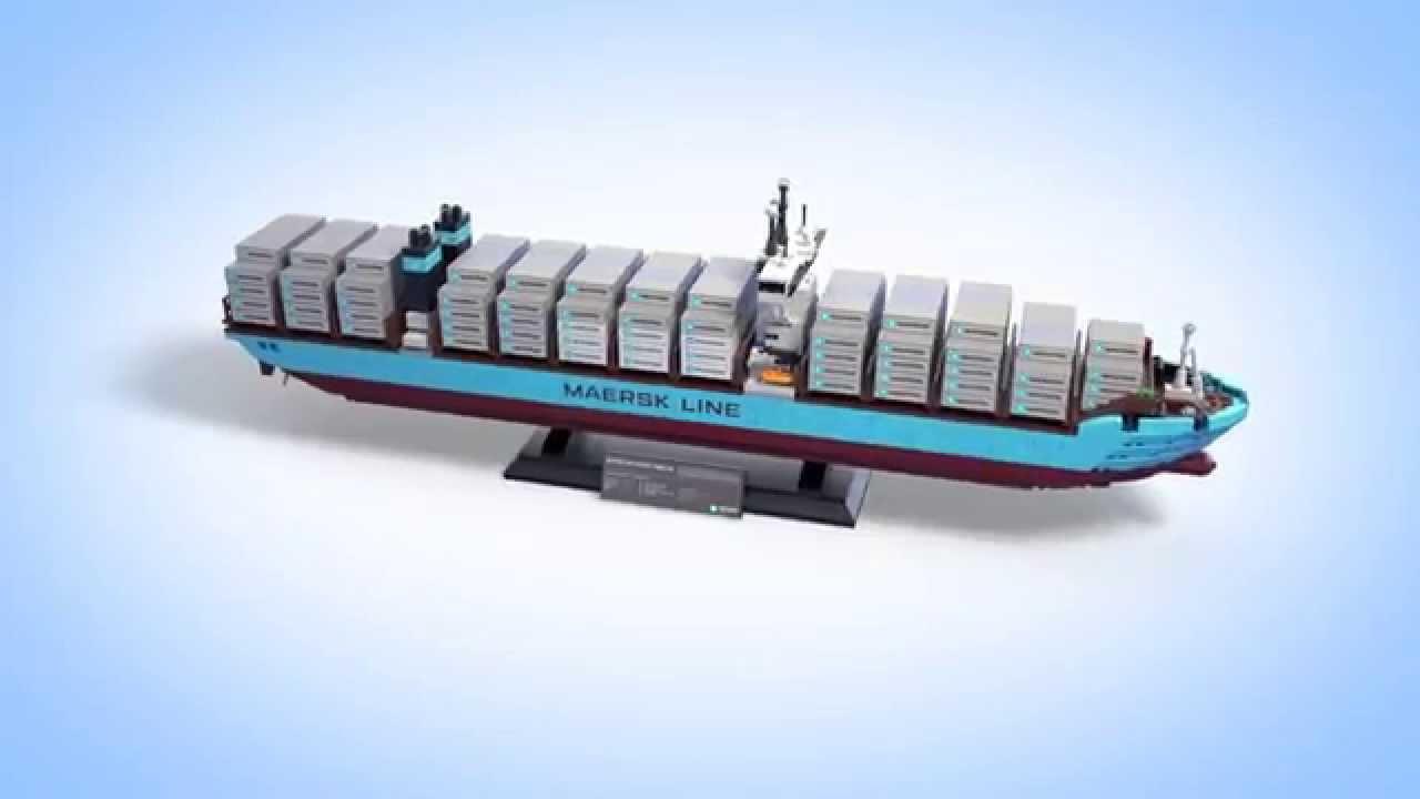 Maersk Line Triple-E - LEGO Creator - YouTube