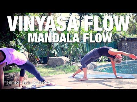 Mandala Flow Yoga Class (live in Costa Rica) - Five Parks Yoga