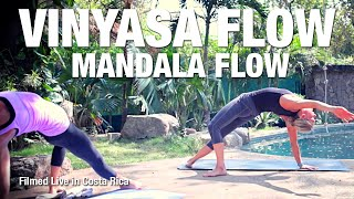 Mandala Flow Yoga Class (live in Costa Rica) - Five Parks Yoga
