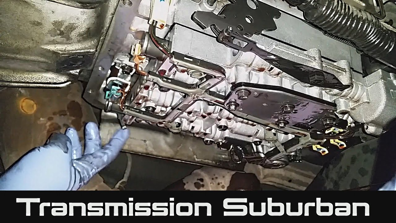 medium resolution of how to change transmission fluid and filter on chevrolet suburban