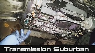 How to Change Transmission Fluid and Filter on Chevrolet Suburban