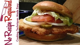 Indianapolis Colts Fried Pork Burger - NFL Burgers - NoRecipeRequired