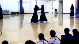 Kendo 2012 Japan Highschool Team vs USA SoCal Youth: Sempo