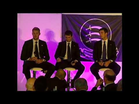 Steven Finn, Tim Murtagh & Ollie Rayner - Q&A Session at Middlesex CCC's 150th Anniversary Lunch