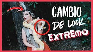 CAMBIO DE LOOK EXTREMO 😱 🐍 Kimberly Loaiza