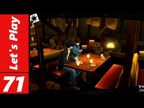 Let's Play Persona 5 #71: Group Date Cafe?