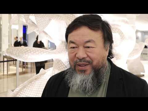 Ai Weiwei on His Fantastical Creatures at Le Bon Marché