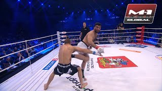 You can't stand this kick! Spinning back kick KO right to the liver! Guseynov vs Fomenko