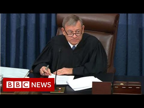 Trump impeachment trial begins with witness battle - BBC News