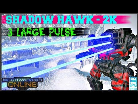 MechWarrior Online - Shadow Hawk 2K - 3 Large Pulse |