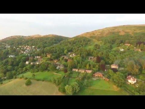 Aerial Video Malvern Worcestershire UK