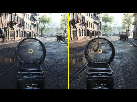 Battlefield V - Ray Tracing On vs Off / Frame Rate Test - Rotterdam Map Graphics Comparison