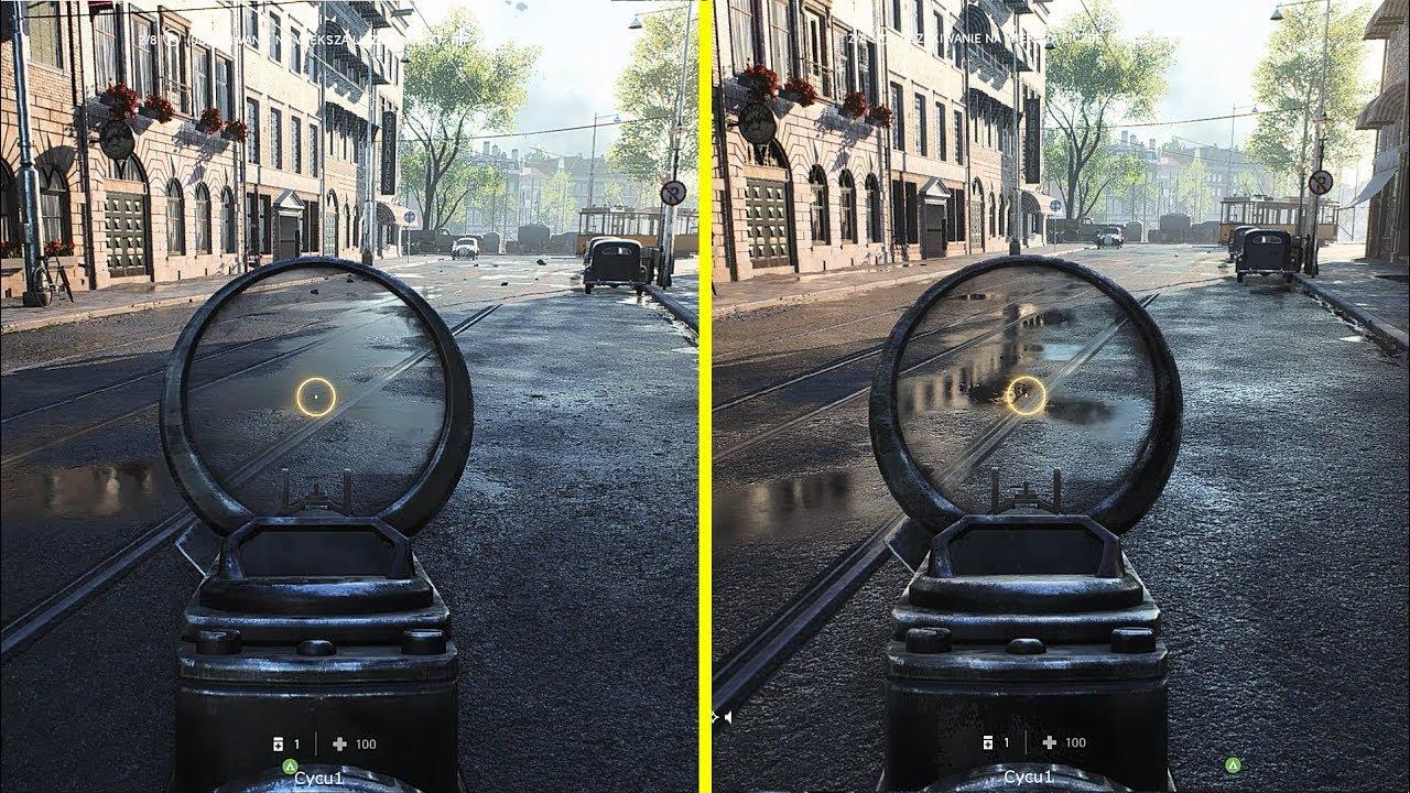 Battlefield V - Ray Tracing On vs Off