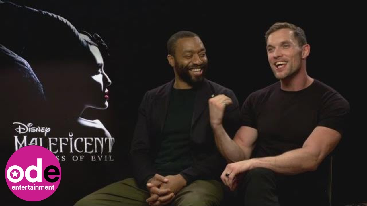 Maleficent 2 Ed Skrein Talks Getting Fit While Chiwetel Ejiofor Ate Burgers