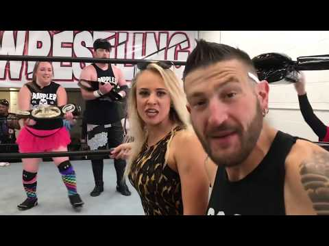 SUPERMODELS CHAMPIONSHIP CHALLENGE! Grim VS Hollywood EVERYTHING ON THE LINE! GTS Wrestling PPV!